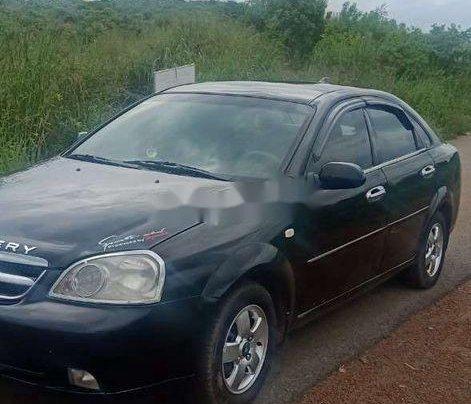 Bán Daewoo Lacetti năm sản xuất 2009, chính chủ sử dụng xe màu đen4