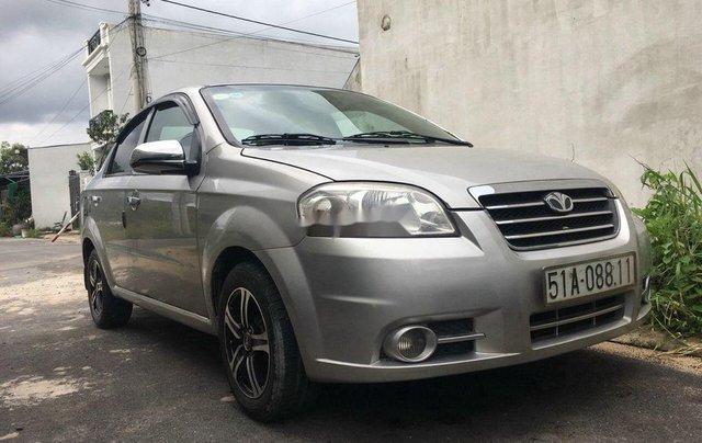 Bán xe Daewoo Gentra đời 2011, màu bạc số sàn0