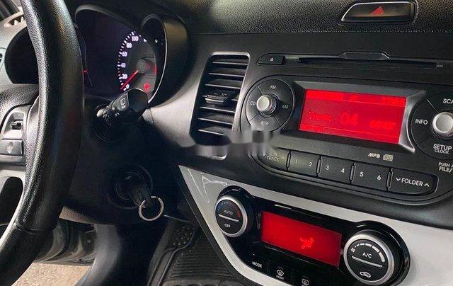 Bán ô tô Kia Picanto năm 2013, màu bạc9
