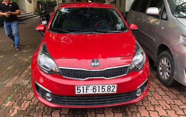 Bán ô tô Kia Rio sản xuất 2015, màu đỏ 0