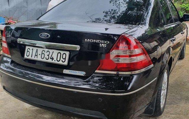 Bán ô tô Ford Mondeo sản xuất năm 2004, màu đen, giá chỉ 185 triệu1