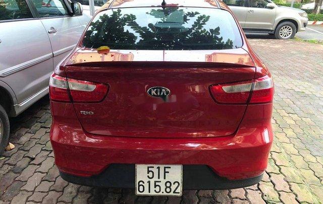 Bán ô tô Kia Rio sản xuất 2015, màu đỏ 2