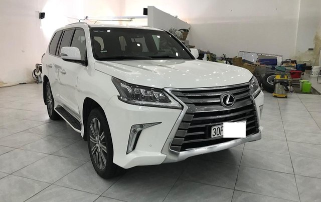 Bán Lexus LX 570 trắng nội thất da bò xe sản xuất 2016 đăng ký cá nhân siêu đẹp2