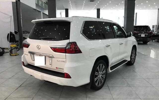 Bán Lexus LX 570 trắng nội thất da bò xe sản xuất 2016 đăng ký cá nhân siêu đẹp3