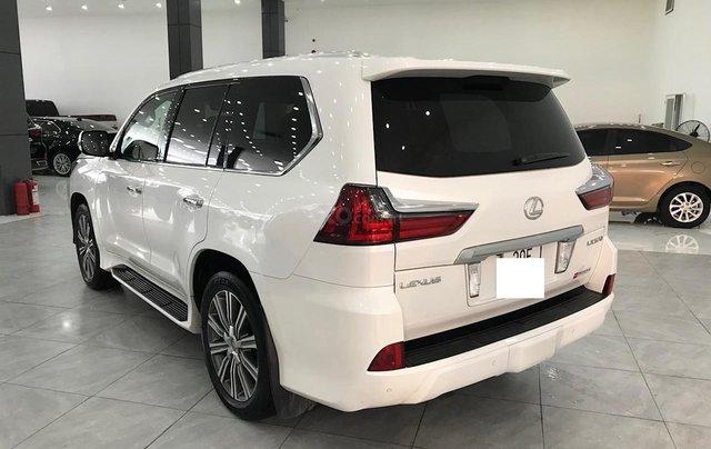 Bán Lexus LX 570 trắng nội thất da bò xe sản xuất 2016 đăng ký cá nhân siêu đẹp5