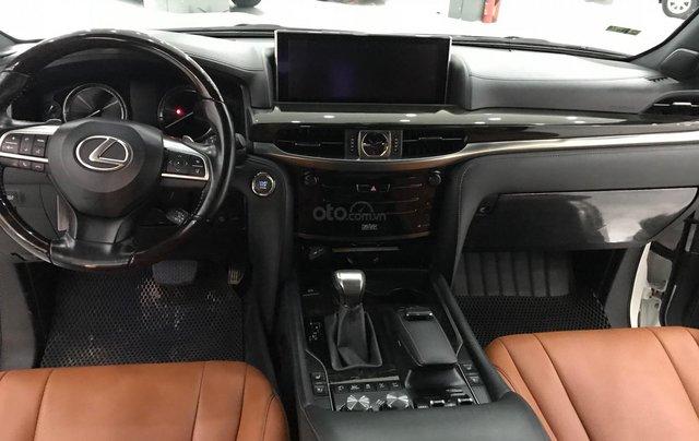 Bán Lexus LX 570 trắng nội thất da bò xe sản xuất 2016 đăng ký cá nhân siêu đẹp11
