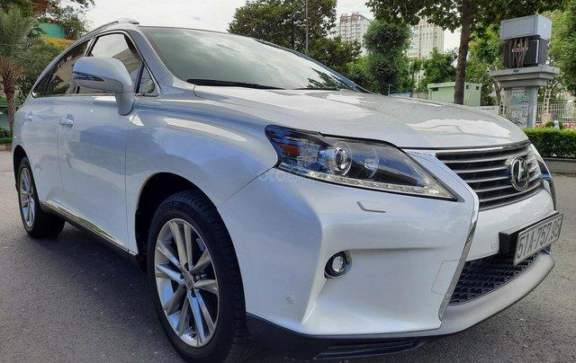 Bán Lexus RX350 V6 3.5 sản xuất 2013, đăng ký lần đầu 2014, màu trắng, nhập khẩu1
