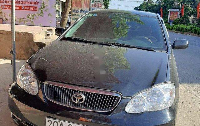 Bán Toyota Corolla sản xuất năm 2003, màu đen còn mới3