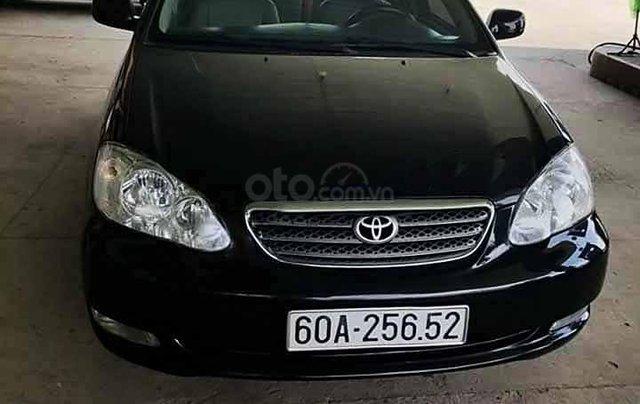 Cần bán gấp Toyota Corolla Altis năm 2006, màu đen0