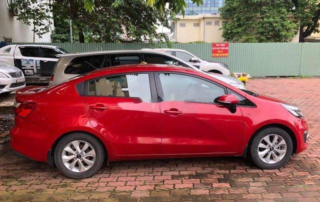 Bán ô tô Kia Rio sản xuất 2015, màu đỏ 1