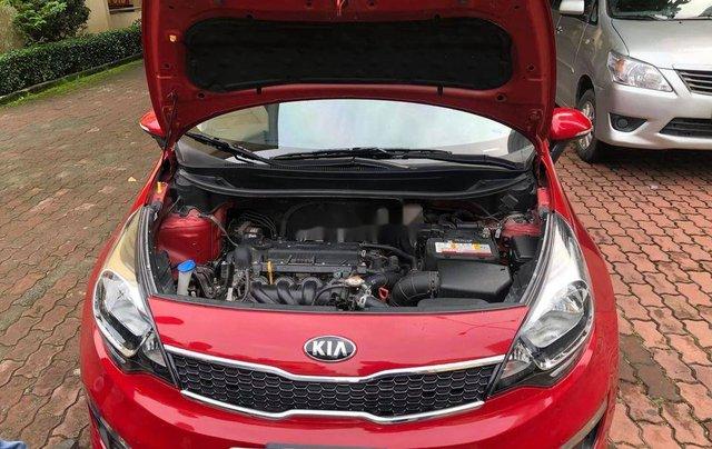 Bán ô tô Kia Rio sản xuất 2015, màu đỏ 4