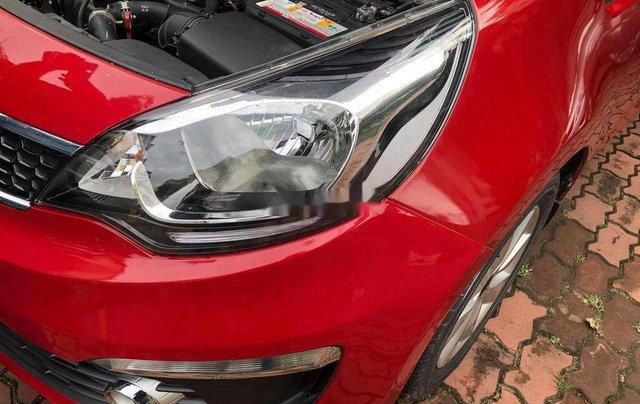 Bán ô tô Kia Rio sản xuất 2015, màu đỏ 5