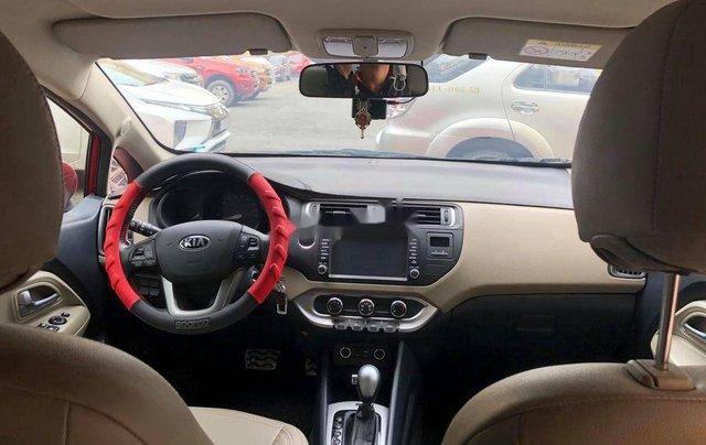 Bán ô tô Kia Rio sản xuất 2015, màu đỏ 6