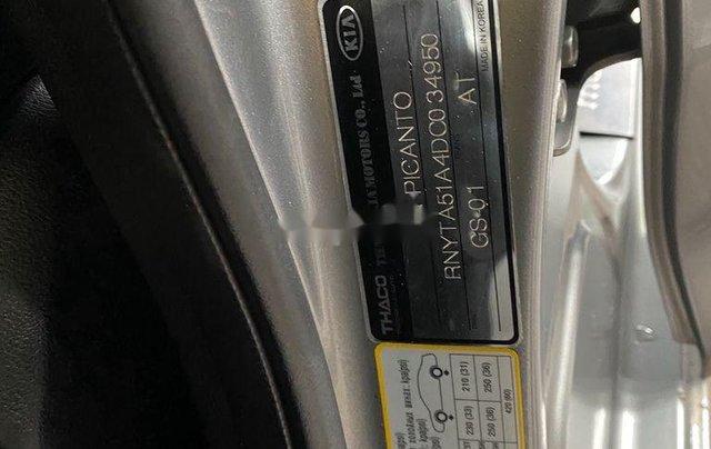 Bán ô tô Kia Picanto năm 2013, màu bạc8