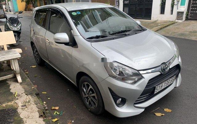 Bán Toyota Wigo năm 2019, màu bạc, nhập khẩu như mới3