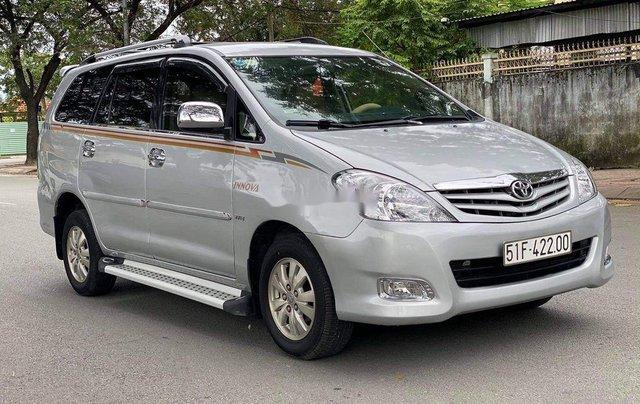 Bán Toyota Innova G đời 2009, màu bạc, BSTP. Rất đẹp2