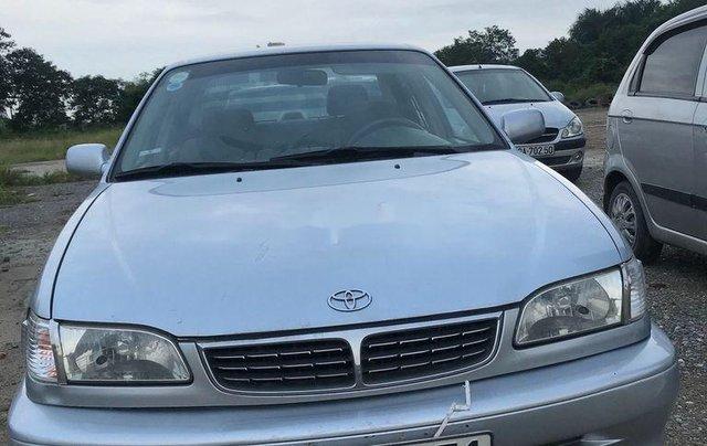 Bán Toyota Corolla sản xuất năm 2000, màu bạc, nhập khẩu 0
