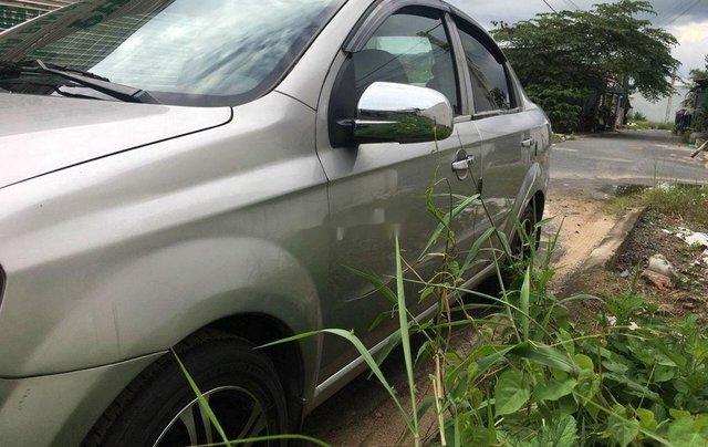 Bán xe Daewoo Gentra đời 2011, màu bạc số sàn1