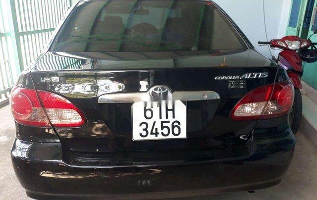 Bán ô tô Toyota Corolla Altis năm sản xuất 2005, màu đen 3
