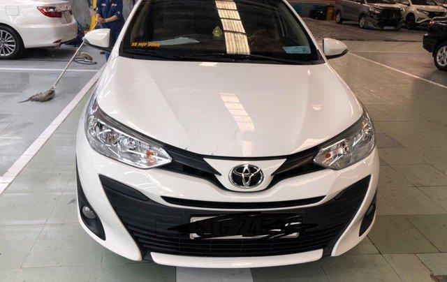 Cần bán lại xe Toyota Vios sản xuất 2018, màu trắng, nhập khẩu, số tự động0