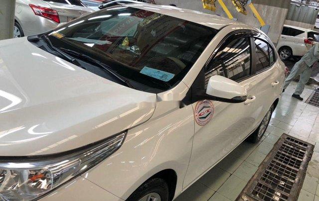 Cần bán lại xe Toyota Vios sản xuất 2018, màu trắng, nhập khẩu, số tự động7