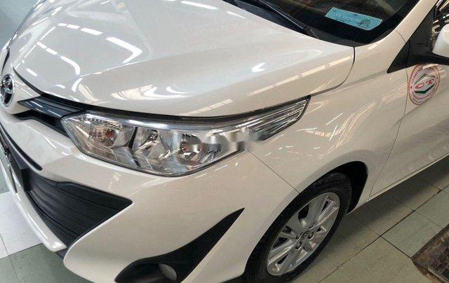 Cần bán lại xe Toyota Vios sản xuất 2018, màu trắng, nhập khẩu, số tự động6