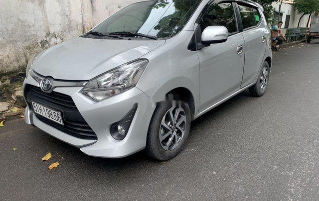 Bán Toyota Wigo năm 2019, màu bạc, nhập khẩu như mới2