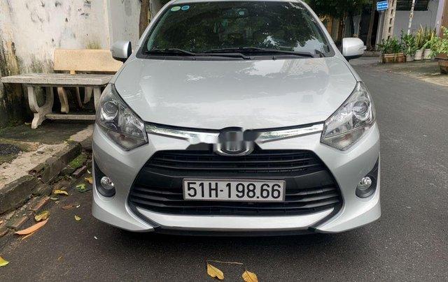Bán Toyota Wigo năm 2019, màu bạc, nhập khẩu như mới0