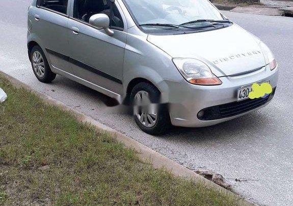 Bán xe Chevrolet Spark đời 2011, màu bạc, giá 100tr1