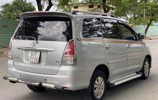 Bán Toyota Innova G đời 2009, màu bạc, BSTP. Rất đẹp6