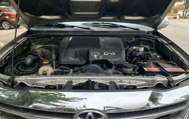 Cần bán gấp Toyota Fortuner đời 2013, màu bạc, số sàn7