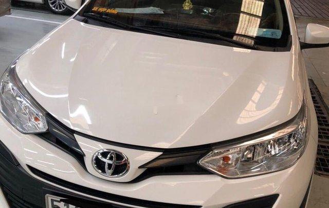 Cần bán lại xe Toyota Vios sản xuất 2018, màu trắng, nhập khẩu, số tự động5
