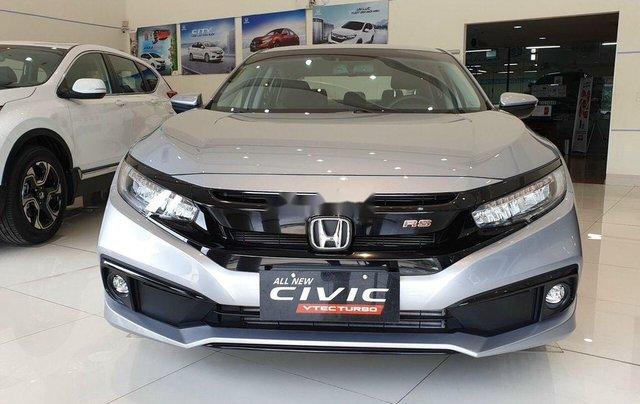 Bán Honda Civic đời 2019, màu bạc0