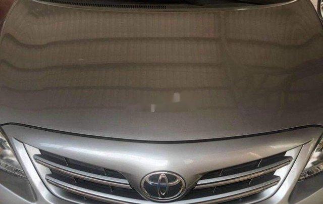 Bán ô tô Toyota Corolla Altis đời 2011, màu xám, nhập khẩu nguyên chiếc 8