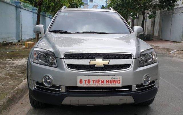 Bán xe Chevrolet Captiva sản xuất năm 2009, màu bạc còn mới giá cạnh tranh24