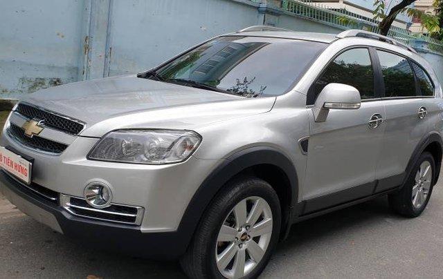 Bán xe Chevrolet Captiva sản xuất năm 2009, màu bạc còn mới giá cạnh tranh23