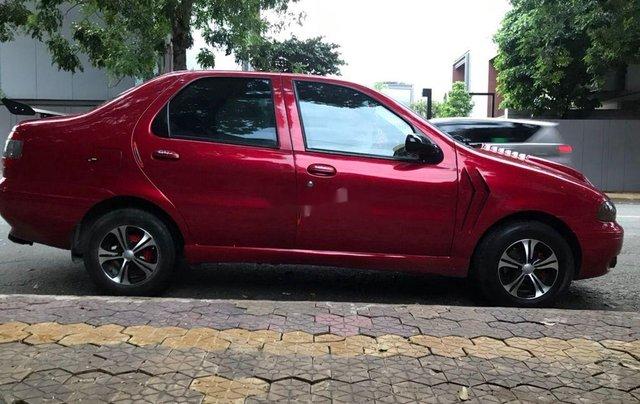 Bán Fiat Siena sản xuất 2001, màu đỏ, xe nhập6