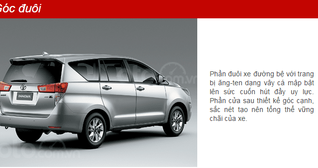 Bán xe Toyota Innova G 20192