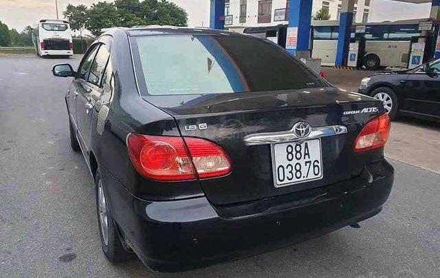 Bán xe Toyota Corolla Altis sản xuất năm 2004, màu đen còn mới, giá chỉ 238 triệu1