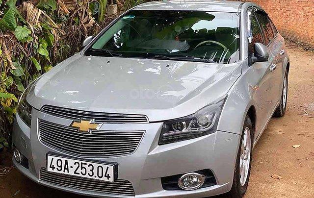 Cần bán Chevrolet Cruze năm sản xuất 2012, màu bạc, xe nhập, số sàn 0
