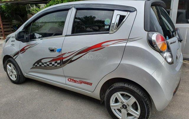 Cần bán xe Chevrolet Spark Van đời 2012, màu bạc1