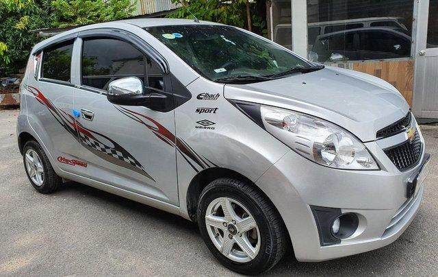 Cần bán xe Chevrolet Spark Van đời 2012, màu bạc2