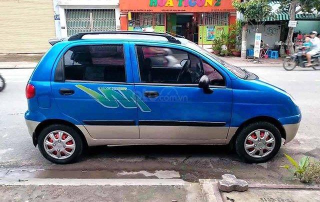 Bán ô tô Daewoo Matiz năm sản xuất 2007, màu xanh lam còn mới, giá tốt3