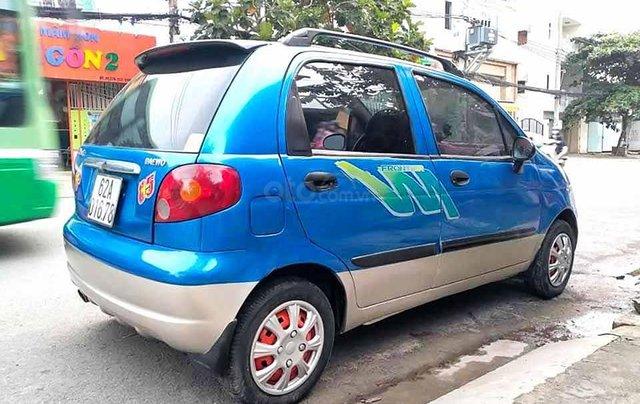 Bán ô tô Daewoo Matiz năm sản xuất 2007, màu xanh lam còn mới, giá tốt2