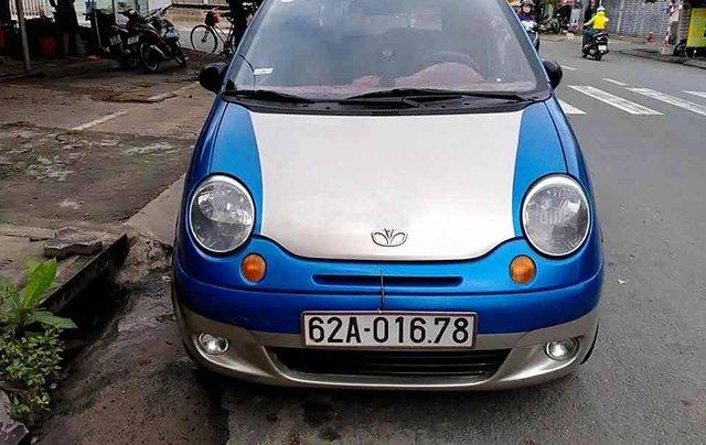 Bán ô tô Daewoo Matiz năm sản xuất 2007, màu xanh lam còn mới, giá tốt1