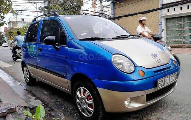 Bán ô tô Daewoo Matiz năm sản xuất 2007, màu xanh lam còn mới, giá tốt0