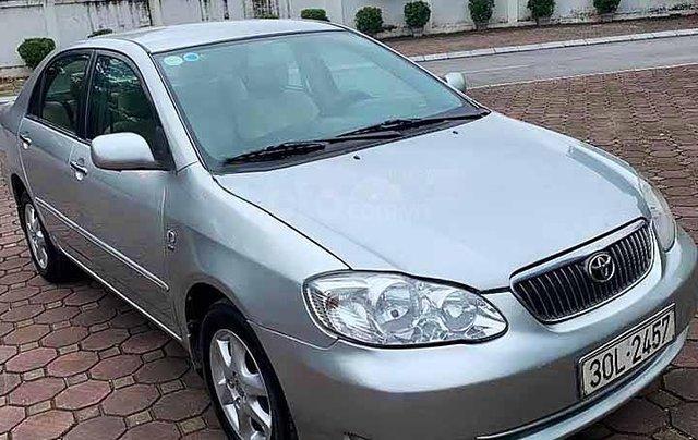 Bán ô tô Toyota Corolla Altis năm 2008, màu bạc còn mới, 265 triệu0