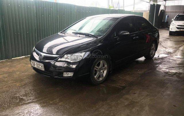 Bán xe Honda Civic đời 2007, màu đen, số tự động1