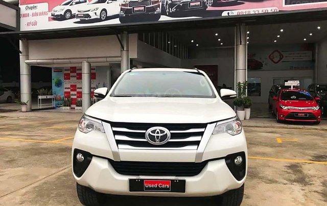 Bán gấp Toyota Fortuner 2.4G MT sản xuất 2017, màu trắng0