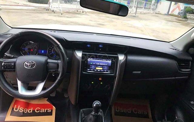 Bán gấp Toyota Fortuner 2.4G MT sản xuất 2017, màu trắng1